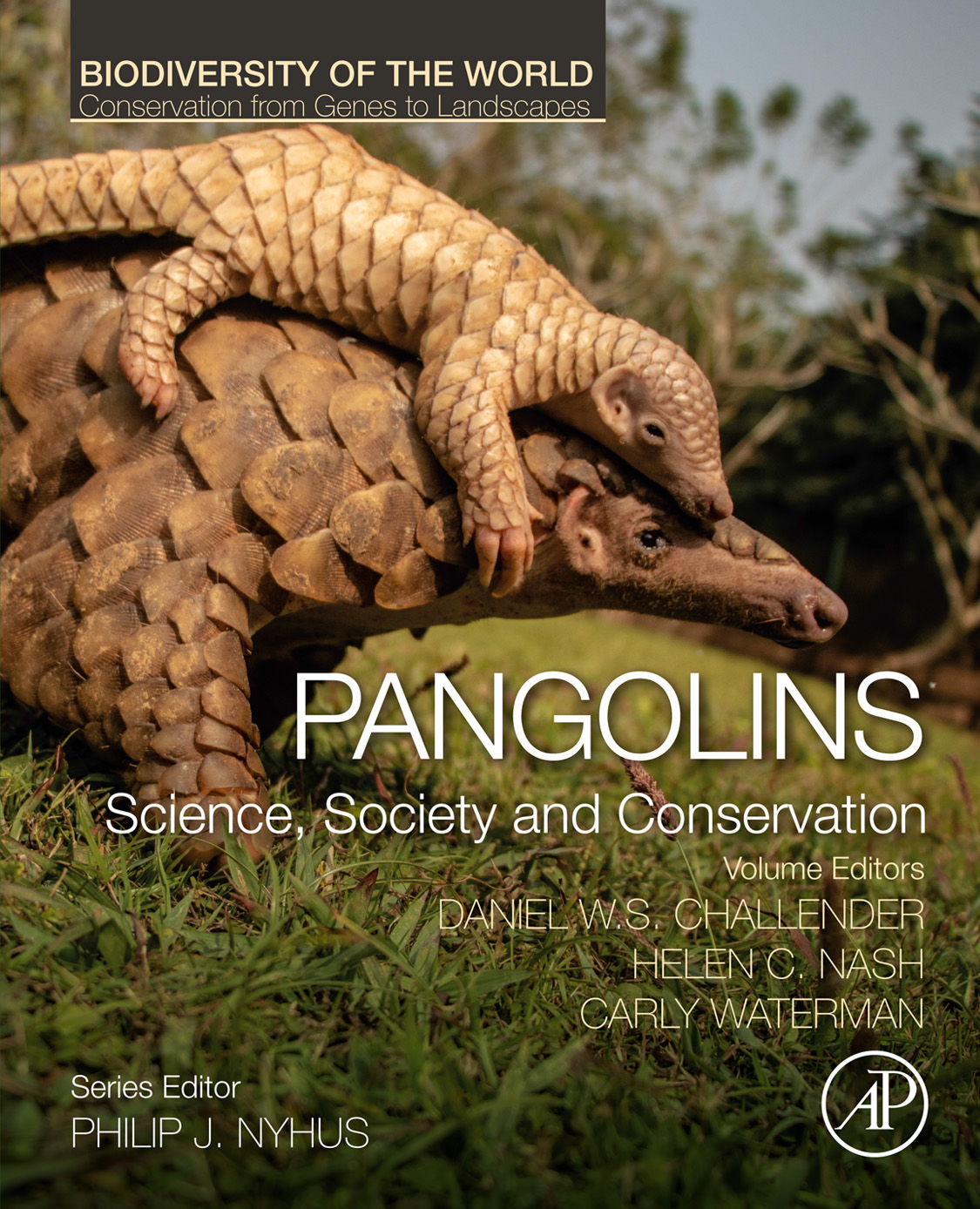 New book on pangolins